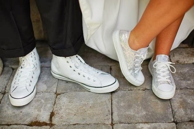 comprar converse de novia