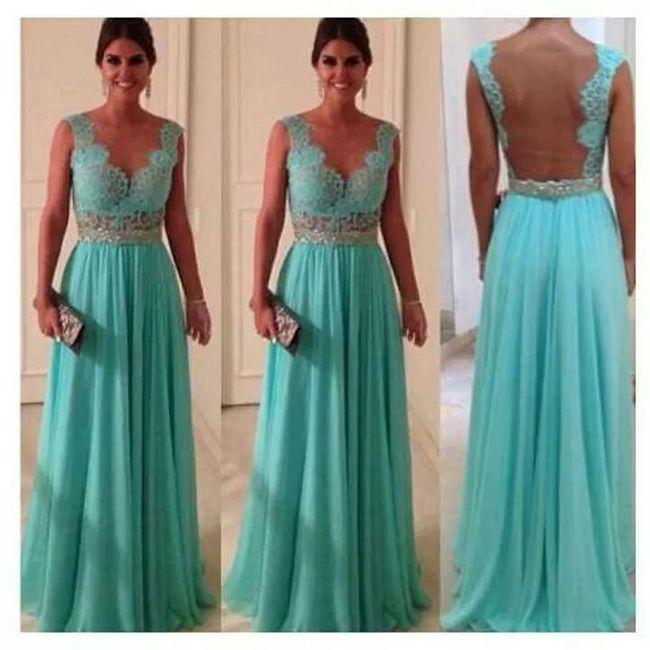 Colores vestido para una boda
