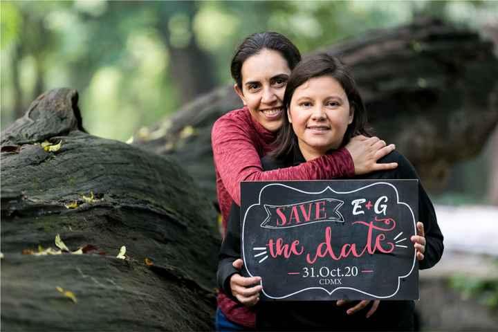 Test boda millennial:  ¿Mandarán un save the date o invitación electrónica? - 1
