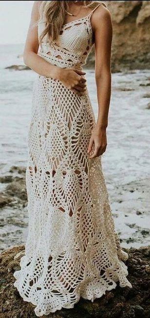 Vestidos para playa en el mes rosa 🎗 7