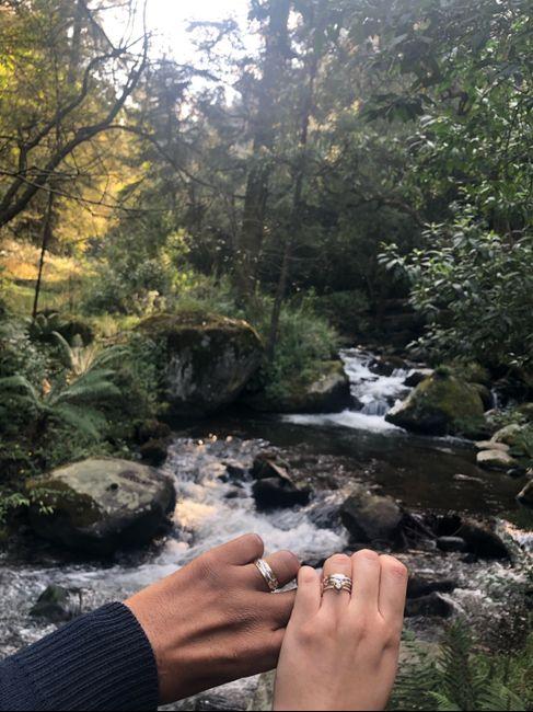 ¿Verdad que el anillo de compromiso si es lo mejor del mundo? 8