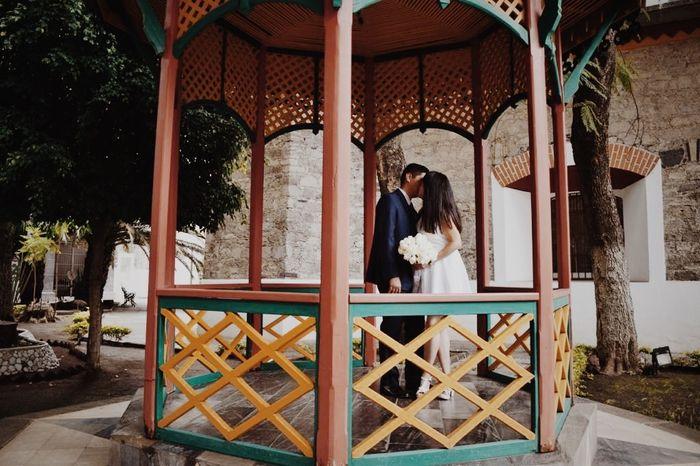 ¿Ramo en boda civil? 2