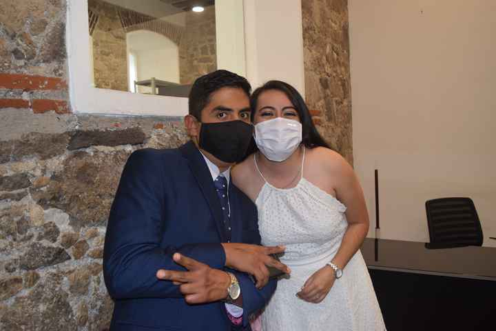 ¿Ramo en boda civil? - 2
