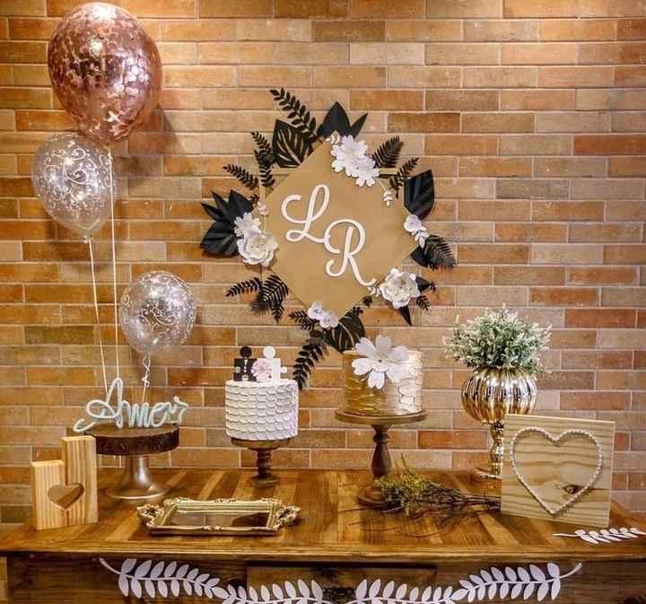 Tipo de decoración para boda en casa - 3