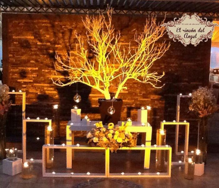 Decoraci n entrada del sal n foro organizar una boda - Decoracion de entradas ...