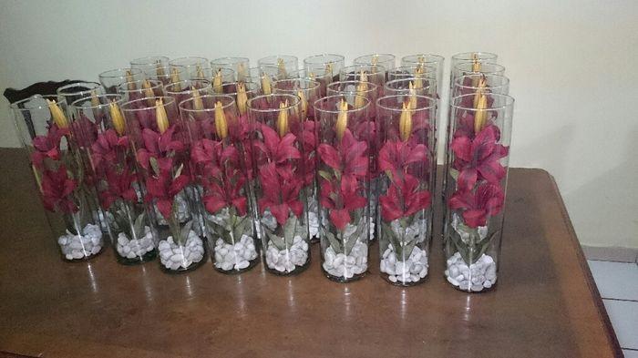 Centros de mesa de flores bajo el agua - 2