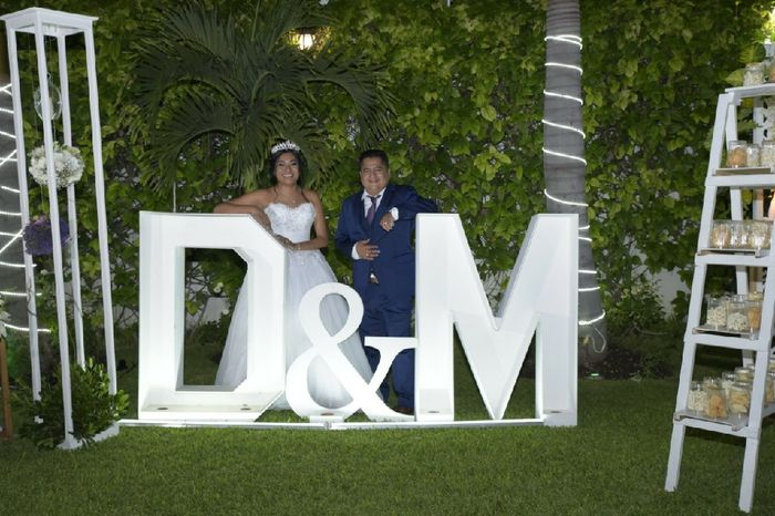 2 meses de casados! 1