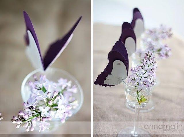 Decoracion de mariposas sobre copas foro manualidades for Mariposas de decoracion para pared