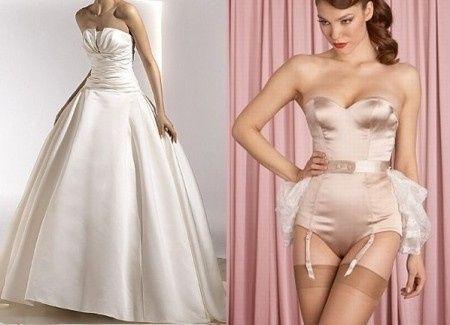 Los 3 tipos basicos de lencería para novia - Foro Moda Nupcial ...