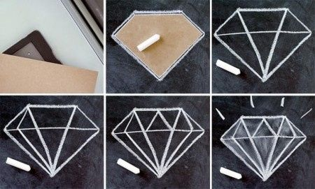 diy: decoración de diamantes para despedida de soltera - foro