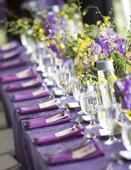 combinación de colores para una boda color morado - foro organizar
