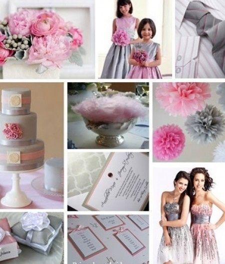 Combinaci n de colores para una boda color rosa fotos for Combinacion de color rosa