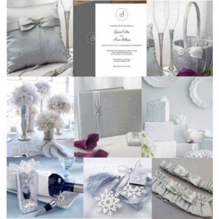 Combinaci n de colores para una boda color gris foro organizar una boda - Decoraciones en color plata ...