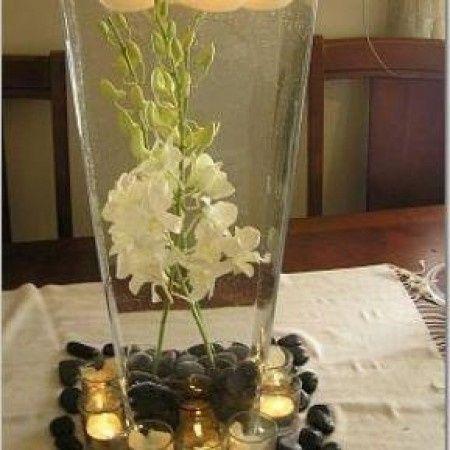 Centros de Mesa de Flores bajo el agua