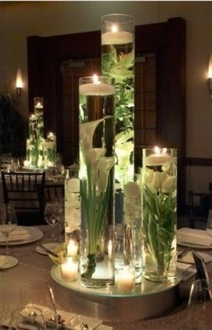 Centros de mesa de flores bajo el agua - Foro Manualidades para bodas ...