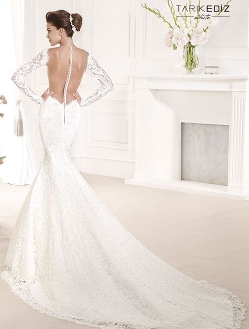 vestidos de novia - encajes y transparencias 2014 - foro moda