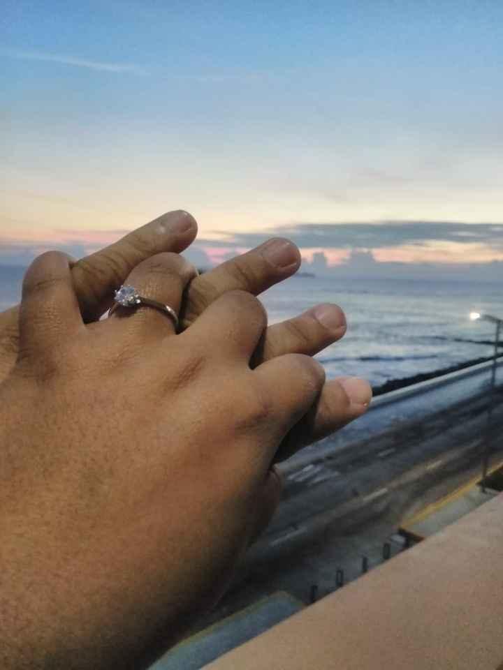 m anillo de compromiso Wendy - 1