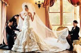 El vestido de novia de Melania Trump 1