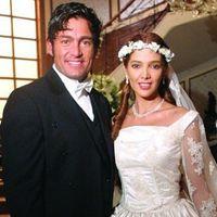 Manuel y Matilde en Amor Real (2003): Para la esperada boda con la que obviamente cerrarían la histo