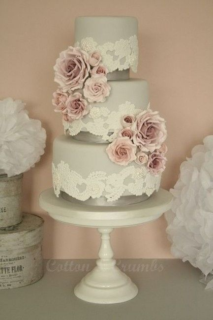 wedding cake silk flowers decorations un pastel artificial o de utiler 237 a foro banquetes 24546