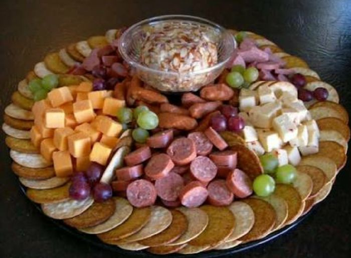 How To Make Swedish Shrimp Salad further Greek Antipasto Platter besides Fruit And Veg likewise The Ultimate Appetizer Board together with Party Platter. on pepperoni cold cuts
