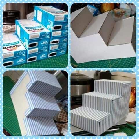 Diy mobiliario para mesa de dulces foro manualidades for Mini candy bar de madera