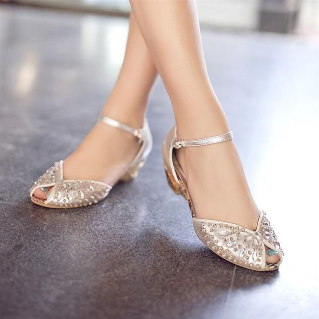 zapatos de piso para el gran día - foro moda nupcial - bodas.mx
