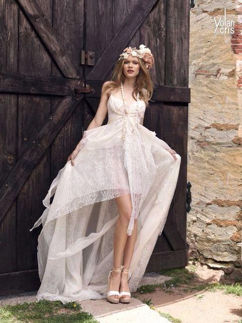 Vestidos de novia bohemios mexico