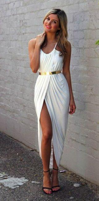 Que vestido usar para una boda civil