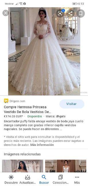 """[JUEGO] Si Googleas """"Vestido de novia""""... 14"""