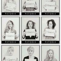 Foto con damas