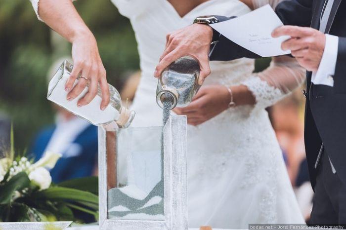 ¡Escribe solo tu tipo de ceremonia! 1