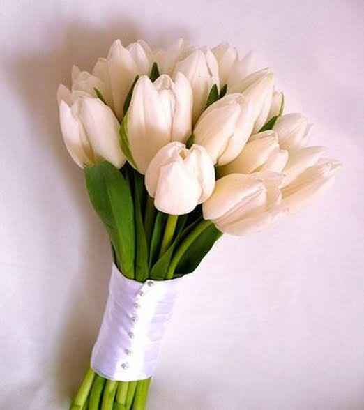 Tulipanes para ramo de novia🌷 - 23
