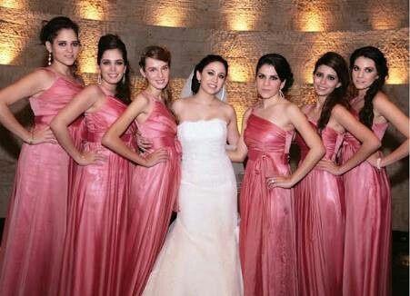 4d30b02228 Vestidos de dama tonos rosa - Foro Moda Nupcial - bodas.com.mx