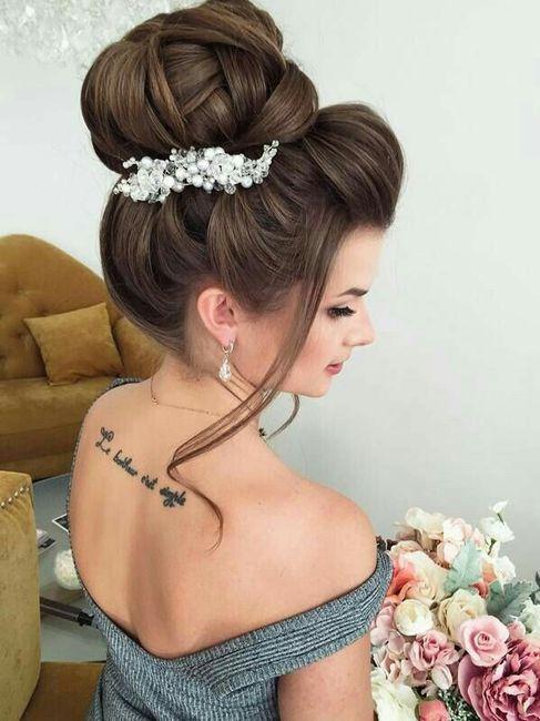 Hairstyles chongo alto foro belleza for Tocados elegantes para bodas