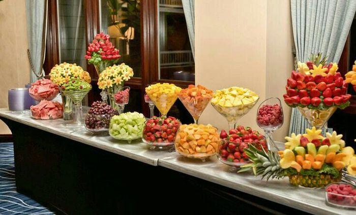 Wedding Sweet Tables Dessert Station Themes Tips Fruits: Mesa De Frutas🍇🍉🍍🍎