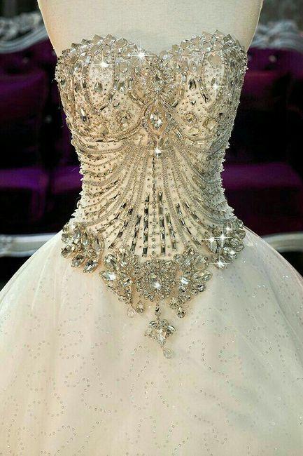 corset de pedrería - foro moda nupcial - bodas.mx