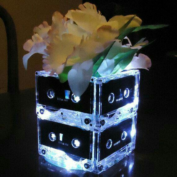 Centros de mesa, luz led - 9