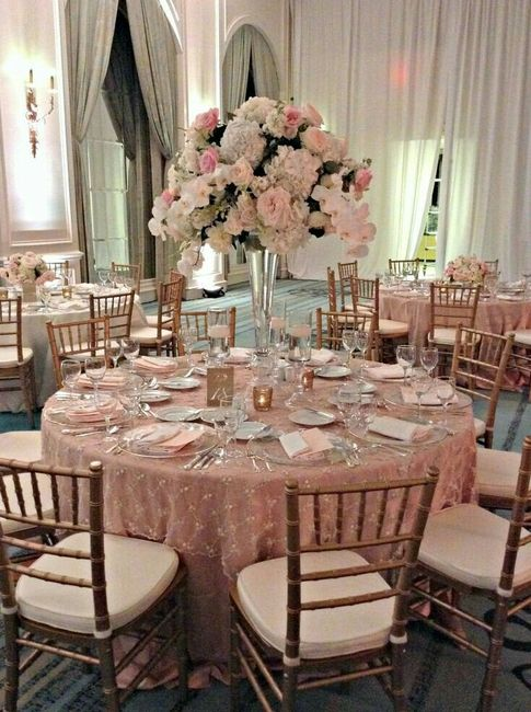 Decoraci n rose gold foro antes de la boda for Decoracion de paginas