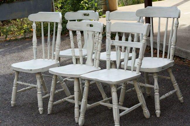 Los tipos de silla foro organizar una boda - Pintar sillas de madera ...