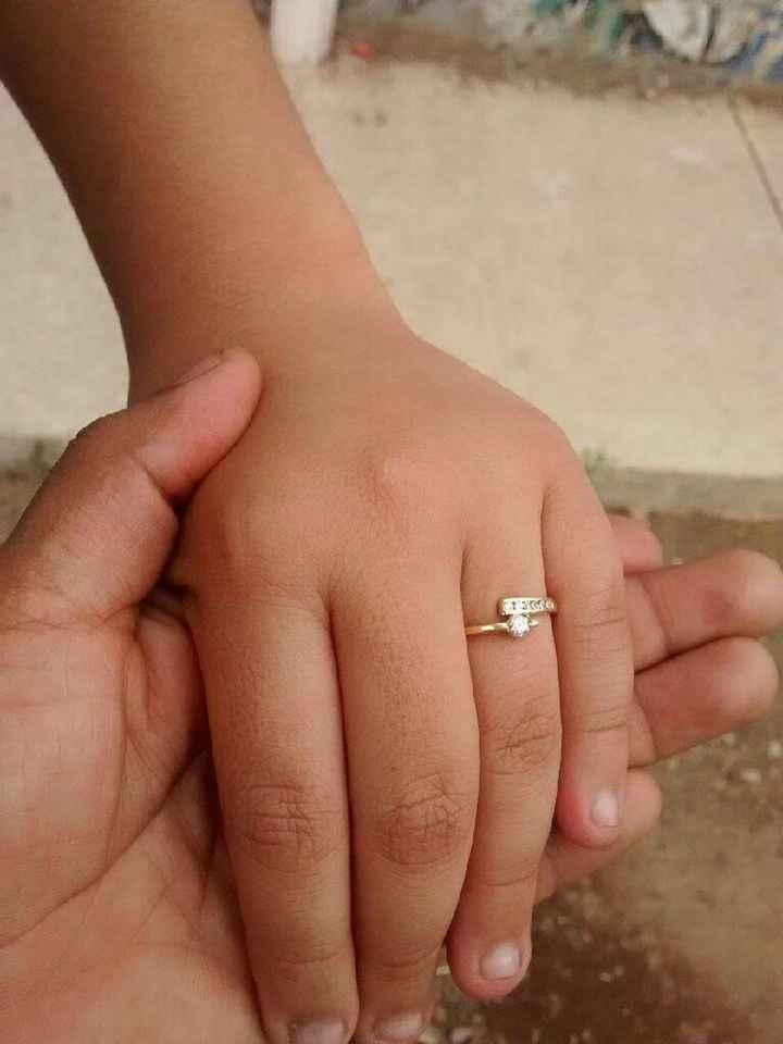 Presume tu anillo de compromiso! - 1