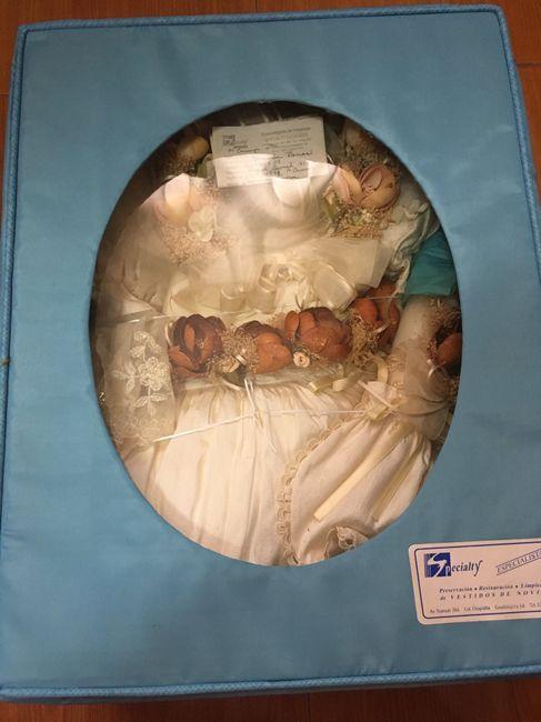 caja para vestido de novia 2