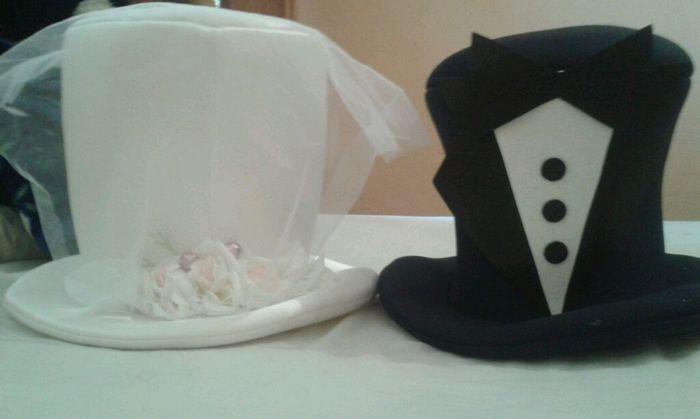 563ee4c7b628e Sombreros de novios - Foro Manualidades para bodas - bodas.com.mx