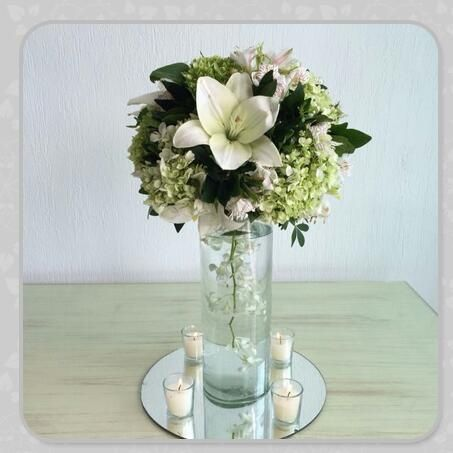 Arreglos De Mesa Con Flores Naturales Foro Organizar Una Boda - Centros-de-mesa-de-flores-naturales