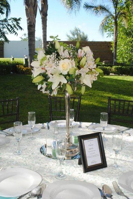 Arreglos de mesa con flores naturales foro organizar una for Adornos para bodas con plantas