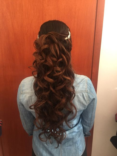 mi prueba de peinado y maquillaje para mi boda civil. - foro