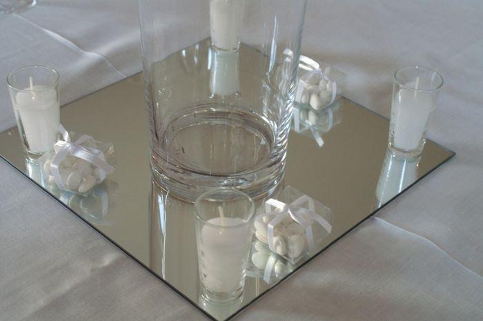 Ayuda con centros de mesa foro organizar una boda for Espejos para mesa