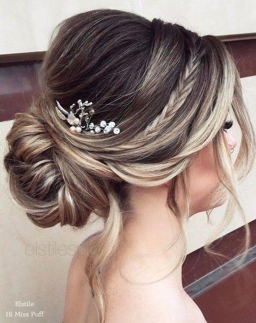 Fotos de peinados cabello recogido