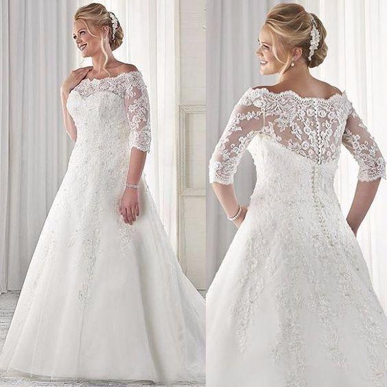 Vestidos de novia para tallas extras