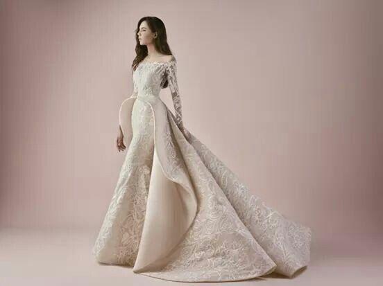 Coleccin de vestidos de novia 2018 del diseador libans saiid